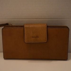 Fossil Wallet - Brown